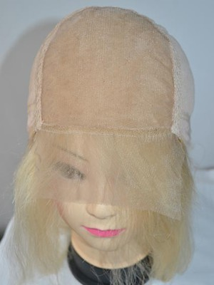 Cute Long Lace Wavy Remy Human Hair Wig - Image 4