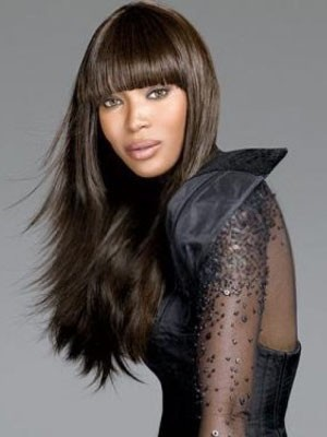 Charming Straight Synthetic Capless Wig - Image 1