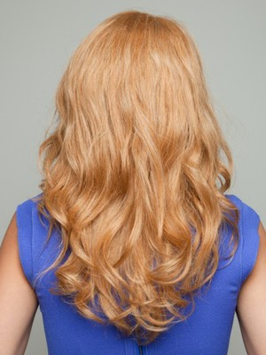 Wavy Long Stupendous Human Hair Lace Front Wig - Image 4