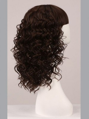 Capless 16 Inch Beautiful Wavy Comfortable Wig - Image 3