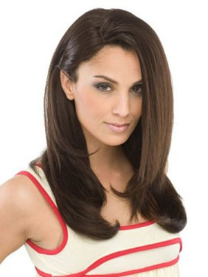 Lace Front Synthetic Stylish Straight Wig - Image 1