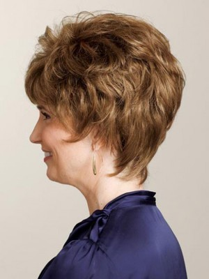 Short Curly Classic Human Hair Wig - Image 2