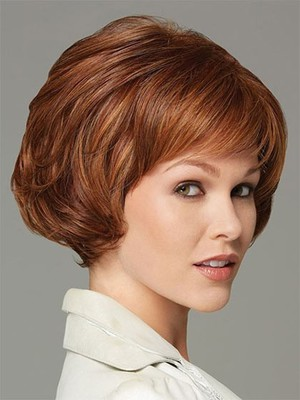 Red Good Short Synthetic Wig - Image 1