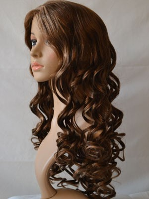Synthetic New Style Lace Front Wavy Wig - Image 2