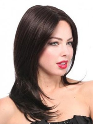 Lace Front Pretty Synthetic Straight Wig - Image 2