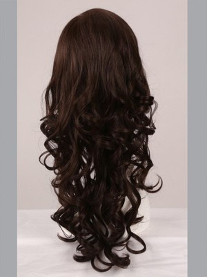 Wavy Full Lace Fashion Faddish No-fuss Wig - Image 4