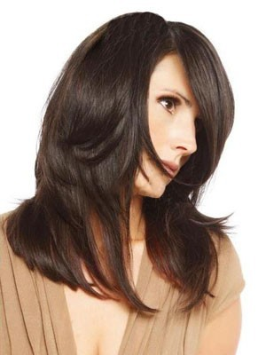 Dazzling Long Straight Capless Human Hair Wig - Image 1