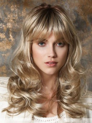 Synthetic Wavy Stylish Capless Wig - Image 1