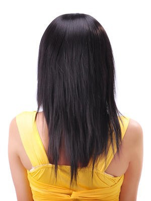 Straight Polished Long Synthetic Capless Wig - Image 2