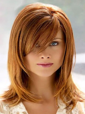 Straight Capless Modern Synthetic Wig - Image 1