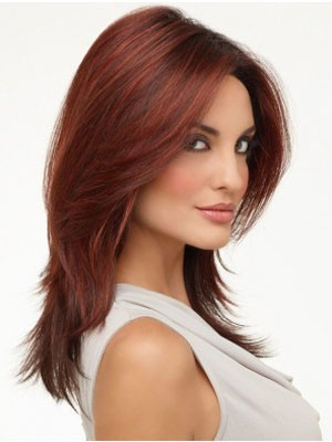 Impressive Lace Front Synthetic Straight Wig - Image 1