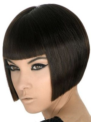 Human Hair Capless Durable Straight Wig - Image 1