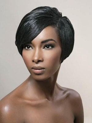 Straight Synthetic Natural Full Lace Wig - Image 1