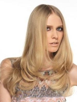 Human Hair Attractive Straight Lace Front Wig - Image 1