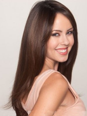 Long Synthetic Fashionable Lace Front Wig - Image 4