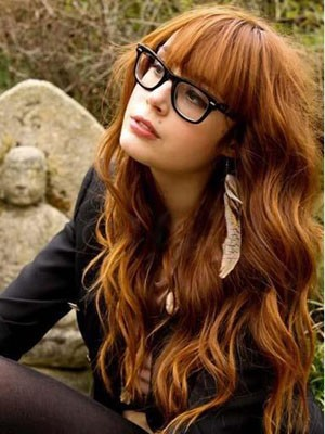 Capless Human Hair Admirable Wavy Wig - Image 1