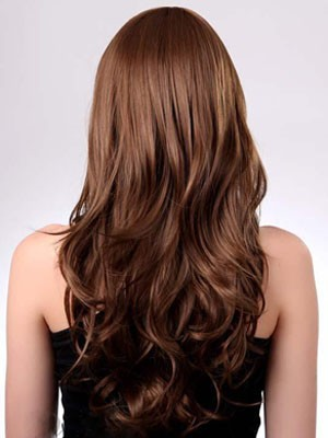 Wavy Capless Polished Long Synthetic Wig - Image 3