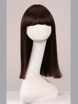 Straight 18 Inch Capless Classic Cheapest Wig - Image 2