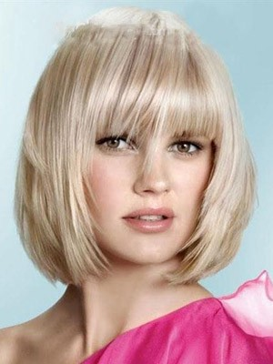 Popular Straight Synthetic Capless Wig - Image 1
