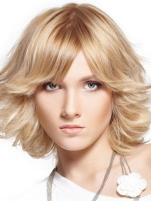 Synthetic Wavy New Style Capless Wig - Image 1