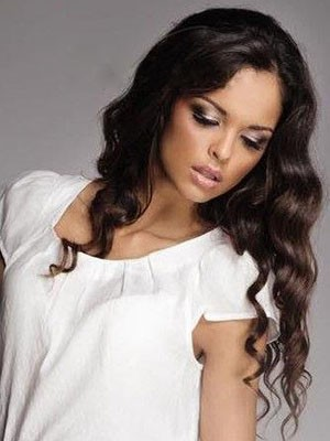 Modern Wavy Lace Front Synthetic Wig - Image 1