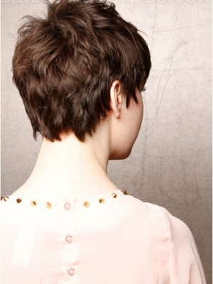 Chic Satisfied Capless Short Synthetic Wig With Straight Style  - Image 2