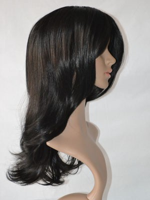 Chic Straight Human Hair Lace Front Wig - Image 3