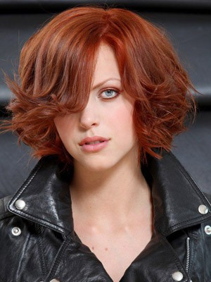 Popular Wavy Synthetic Lace Front Wig - Image 1