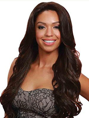 Lace Front Wavy Chic Synthetic Wig - Image 1