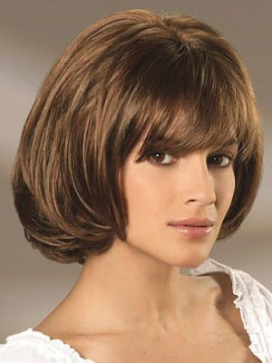 Remy Human Hair Wavy Admirable Capless Wig - Image 1
