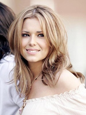 Straight Cheryl Cole's Beautiful Celebrity Wig - Image 1
