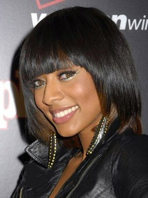 Straight Classic African American Wig - Image 1