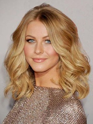 Luxury Length Human Hair Medium Lace Front Wig - Image 1