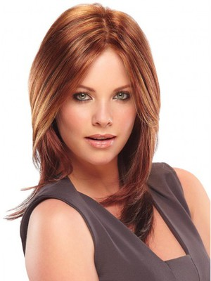 Lace Front Straight Smooth Human Hair Wig - Image 1