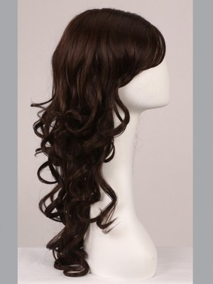 Wavy Full Lace Fashion Faddish No-fuss Wig - Image 3