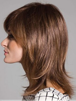 Good Looking Straight Synthetic Capless Wig - Image 2