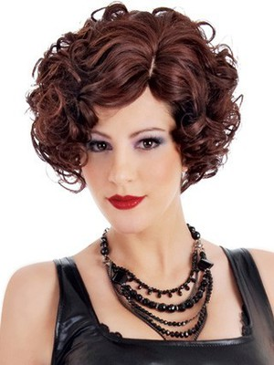 Christina New Style Side Swept Synthetic Wig - Image 1