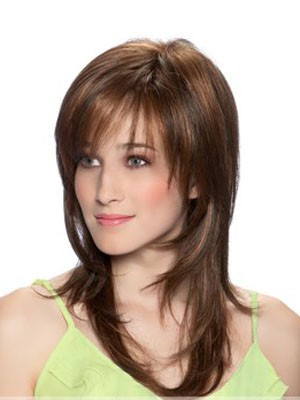 Straight Popular Synthetic Capless Wig - Image 1