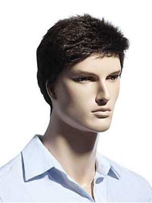 Comfortable Capless Ideal Short Mens Wig - Image 2
