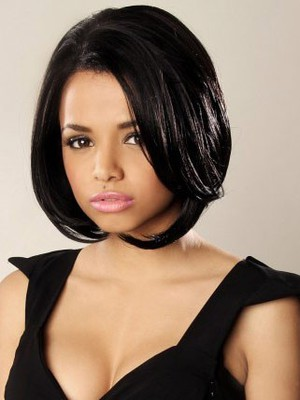 Bob Style Synthetic Charming Lace Front Wig For Woman - Image 1