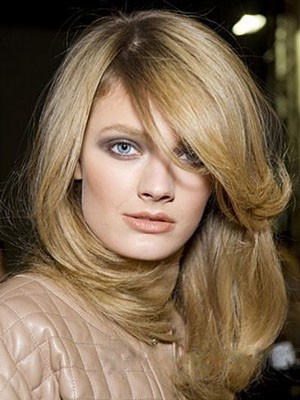Brilliant Remy Human Hair Lace Front Straight Wig - Image 1
