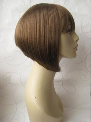 Striking Straight Synthetic Capless Wig - Image 2
