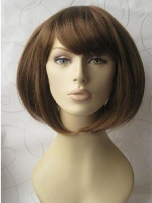 Striking Straight Synthetic Capless Wig - Image 3