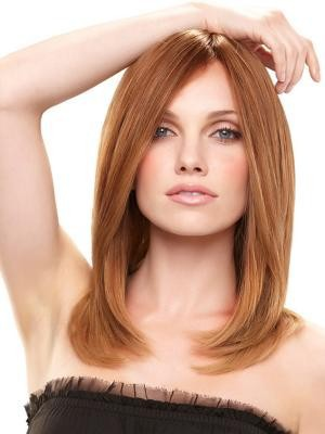 Straight Lace Front Silky Human Hair Wig - Image 1
