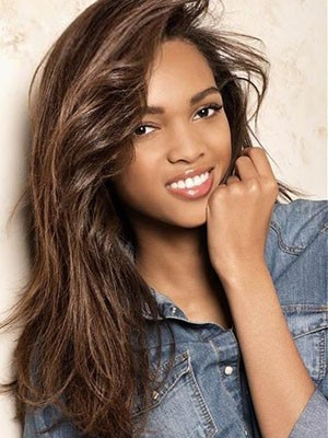 Lace Front Synthetic Comfortable Straight Wig - Image 1