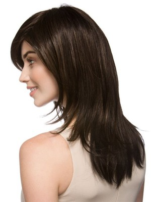 Luxury Straight Long Natural Synthetic Wig - Image 2