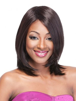 Straight Comfortable Synthetic Capless Wig - Image 1