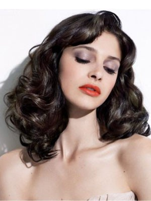 Wavy Synthetic Fabulous Lace Front Wig - Image 1