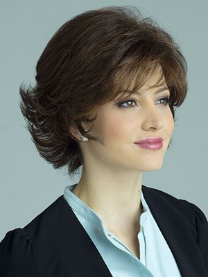 Most Popular Wavy Capless Short Length Synthetic Wig - Image 2
