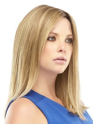 "Lace Front 16"" Romantic Straight Remy Human Hair Wig - Image 2"